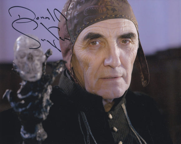 Donald Sumpter 10x8 signed in Black