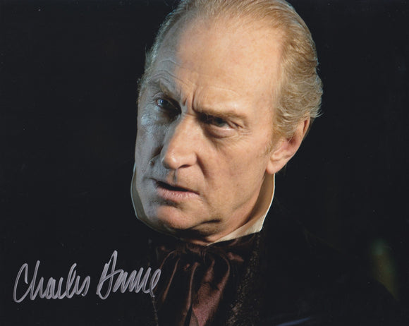 Charles Dance 10x8 signed in Silver