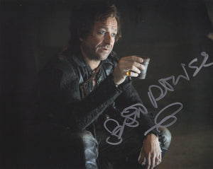 Sean Pertwee 10x8 signed in Silver