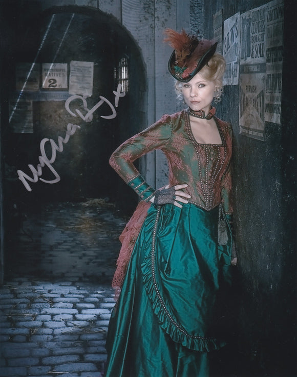 Myanna Buring 10x8 signed in Silver