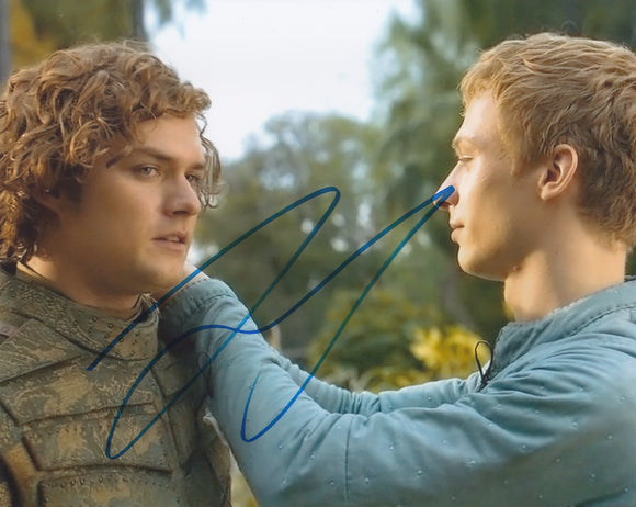 Finn Jones 10x8 signed in Blue