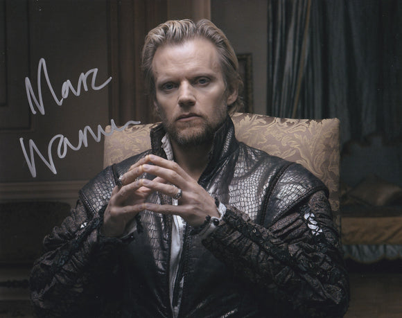 Marc Warren 10x8 signed in Silver
