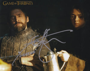 Ian Whyte 10x8 signed in Silver