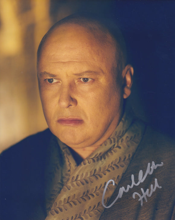 Conleth Hill 10x8 signed in Silver