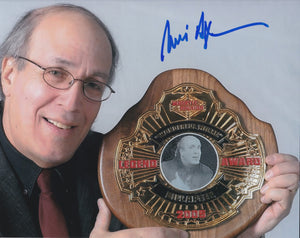 Bill Apter 10x8 signed in Blue