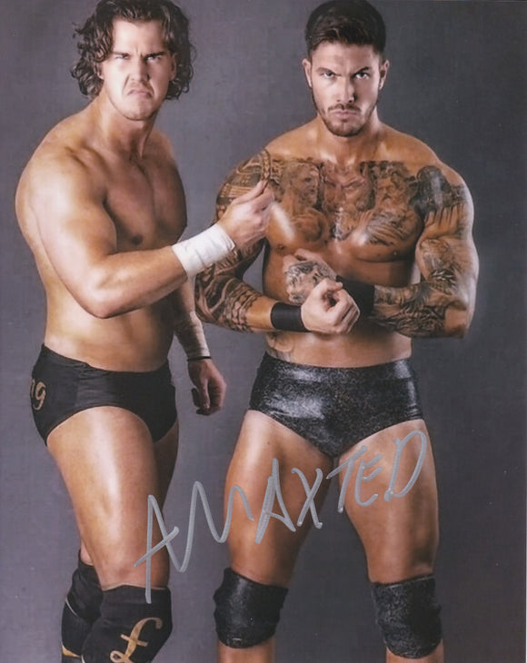 Adam Maxted 10x8 signed in Silver