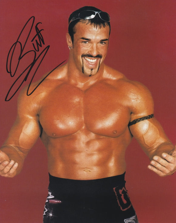 Buff Bagwell 10x8 signed in Black