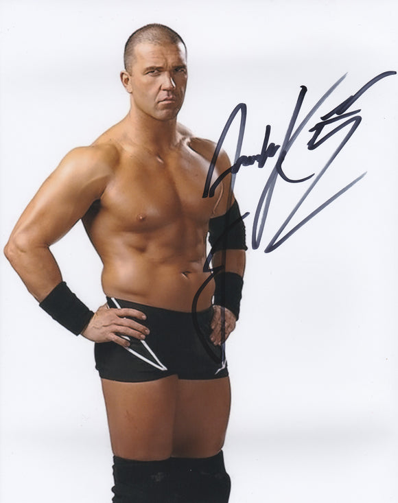 Frankie Kazarian 10x8 signed in Black