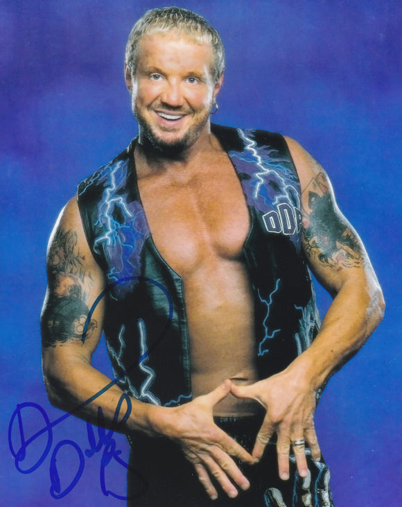 Diamond Dallas Page 10x8 signed in Blue