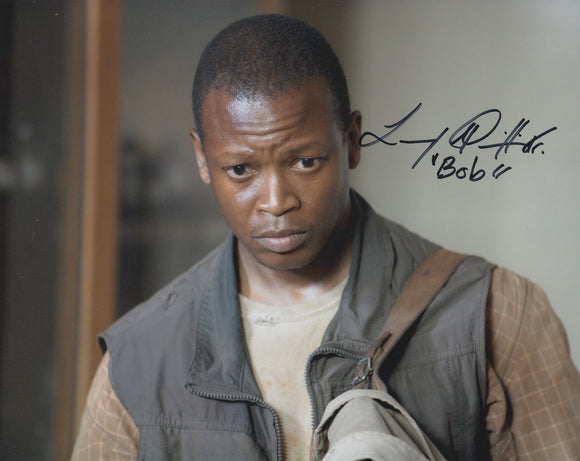 Lawrence Gilliard Jr. 10x8 signed in Black
