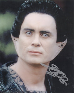 Jeffrey Combs 10x8 signed in silver