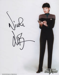 Nicole De Boer 10x8 signed in black DST Official Picture