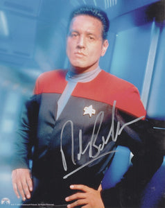 Robert Beltran 10x8 signed in silver