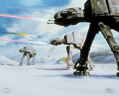 Battle of Hoth 2020 Project Topps Image 11x14 - Blue pen