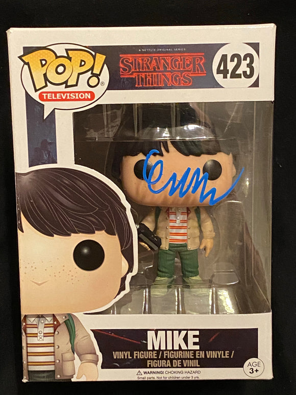 Finn Wolfhand Mike Funko signed in white Paint pen.