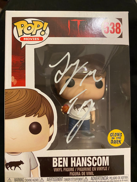 Jeremy Ray Taylor Funko signed in White paint pen.