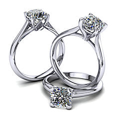 Moores Solitaire Ring Collection