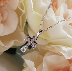 Children's Sterling Silver Cross & Chains