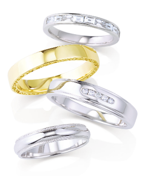Moores Ladies Wedding Rings