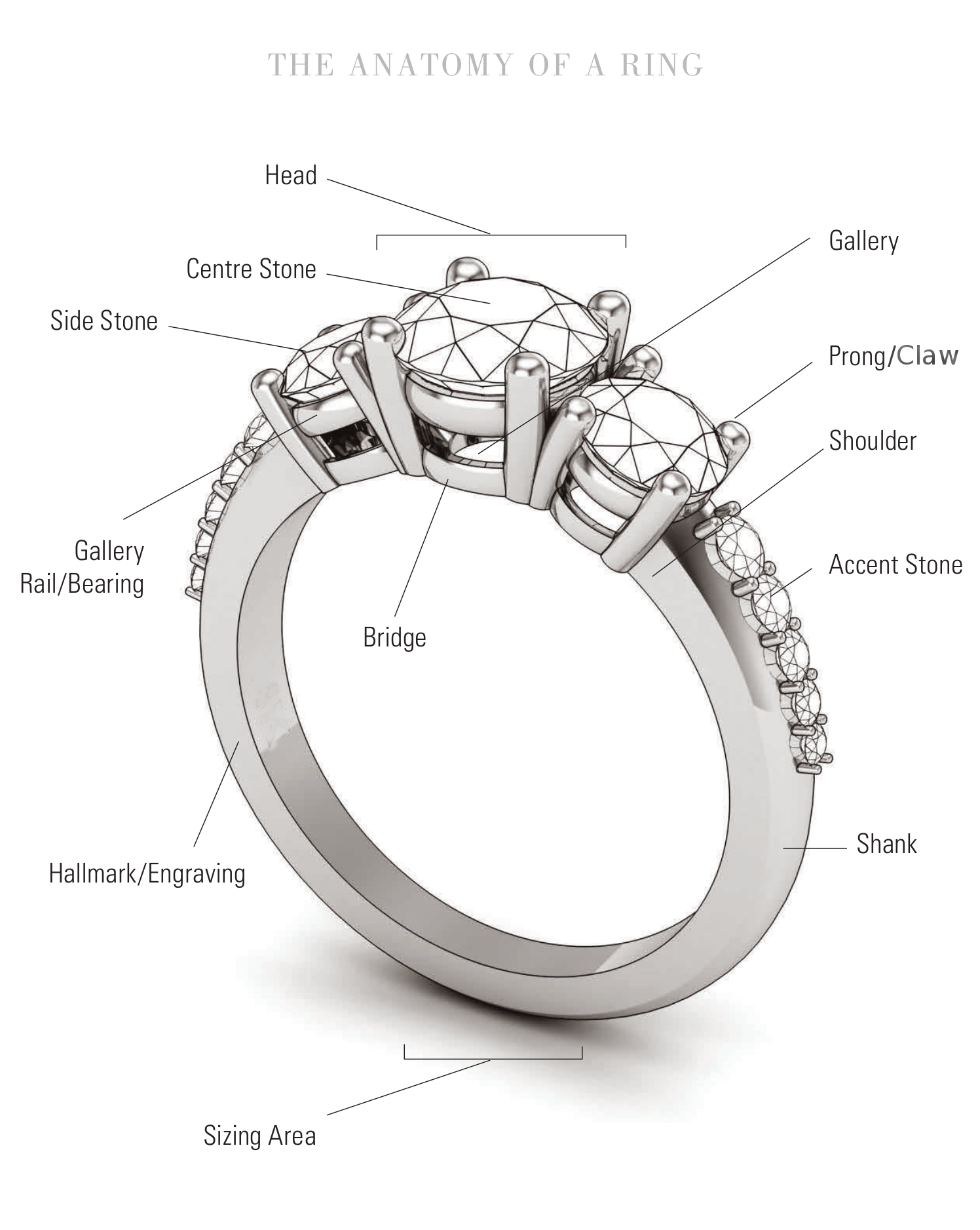 Anatomy of a Ring - Moores Jewellers