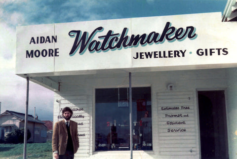 Moores Jewellers was found in 1968 by Aidan & Eileen Moore.