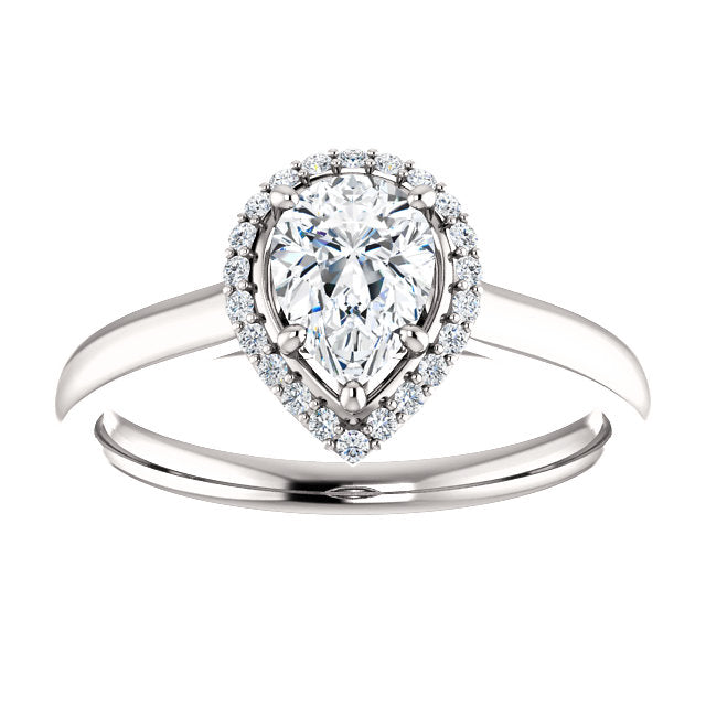 petite engagement diamond blue rings platinum setmain pave ring pav ca in your tw ct own build