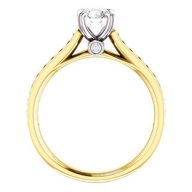 Solitaire Diamond Engagement Ring Custom Made By Moores