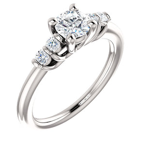 Moores Custom Made Diamond Engagement Ring