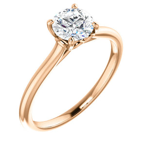 Moores Custom Made Solitaire Engagement Ring