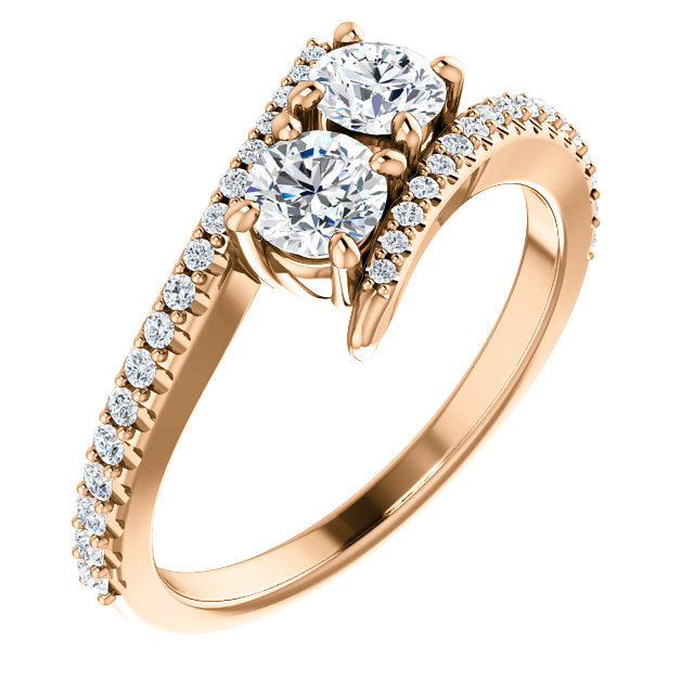 stone three p rings and accents engagement with ring milgrain different diamond htm