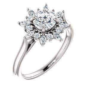 Moores Custom Made Engagement Ring