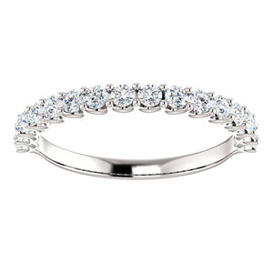 Moores Diamond Set Eternity/Wedding Ring Custom Made By Moores