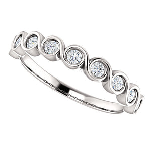 Custom Made Diamond Eternity Ring by Moores