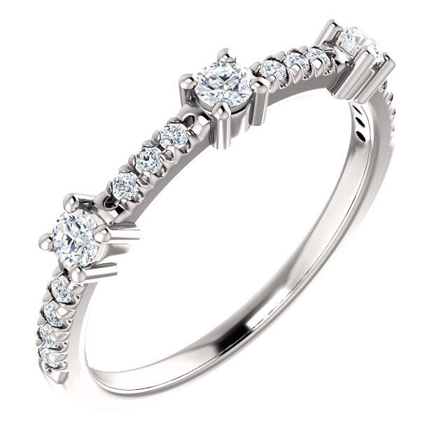 Beautiful Platinum & Diamond Eternity Ring by Moores