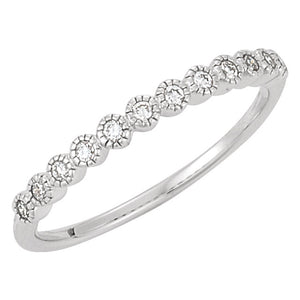 Moores Custom Made Diamond Wedding/Eternity Ring