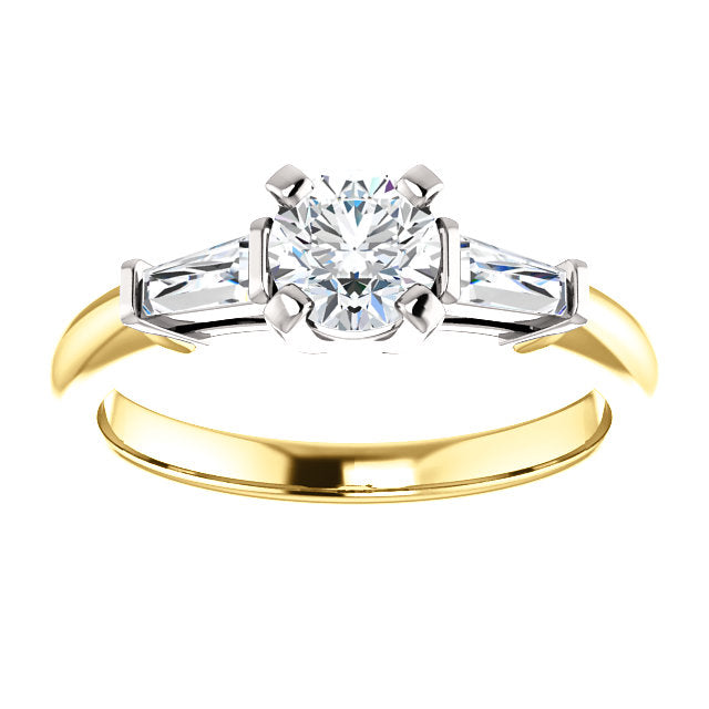 Custom Made Engagement Ring By Moores