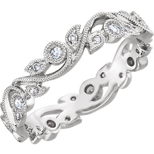 Moores Custom Made Diamond Eternity/Dress Ring