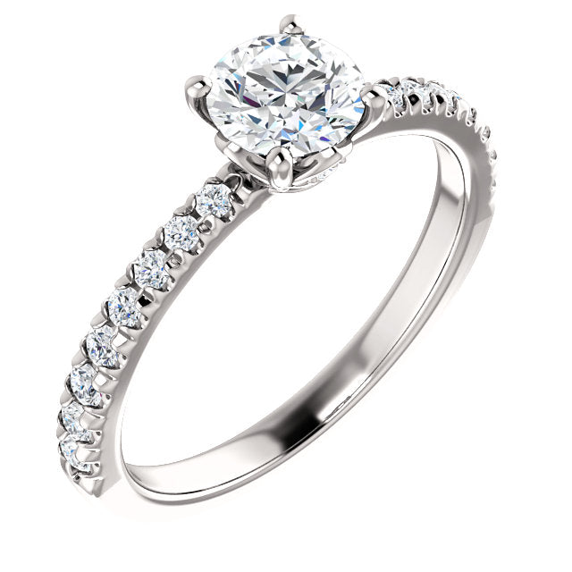 Custom Made Solitaire Diamond Engagement Ring by Moores
