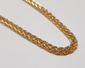 Ladies 9ct. Yellow Gold Bracelet