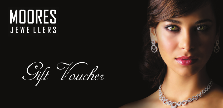 Moores Jewellers Gift Voucher - Physical