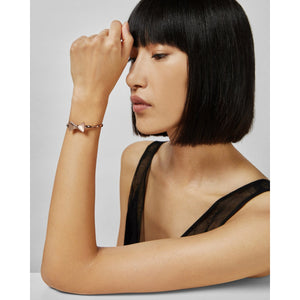 ted baker- crystal tux bow rose gold cuff