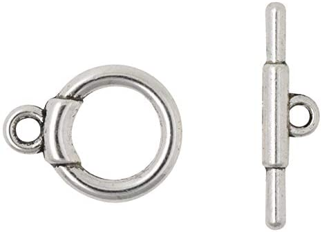 Silver T-Bar Toggle Clasp