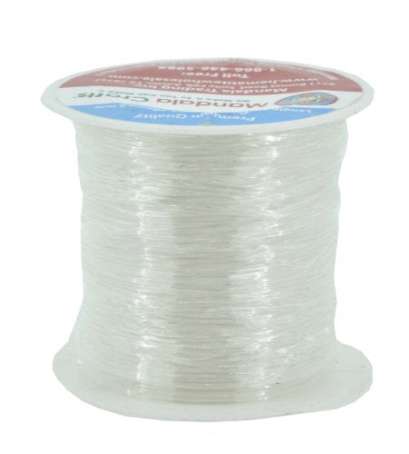 Crystal String Clear Bead Cord