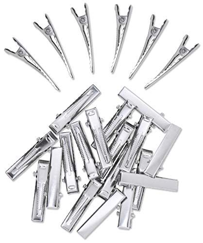 Pack of 200 Silver Alligator Clips