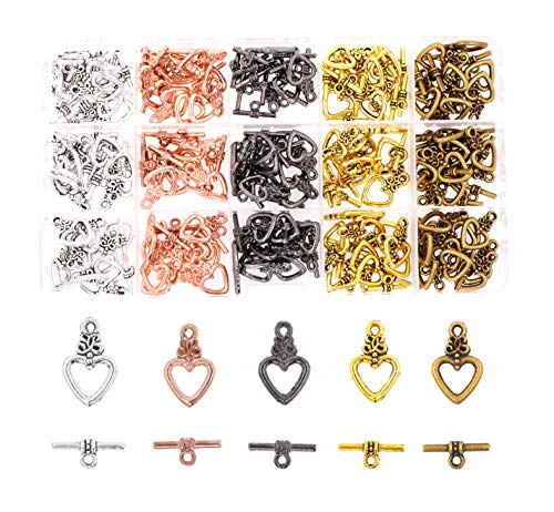 Rose Gold, Bronze, Gunmetal, Silver, Gold Tone Clasps