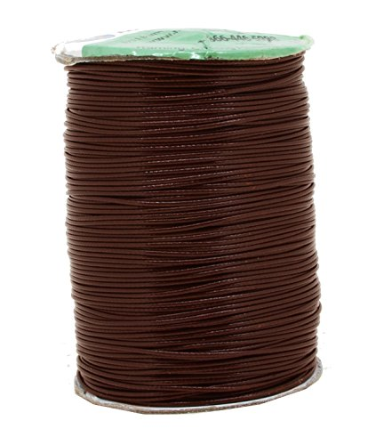 Brown Polyester Beading Craft Cord Thread