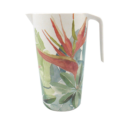 Bird of paradise jug