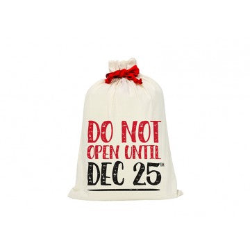Do Not Open Santa Sack