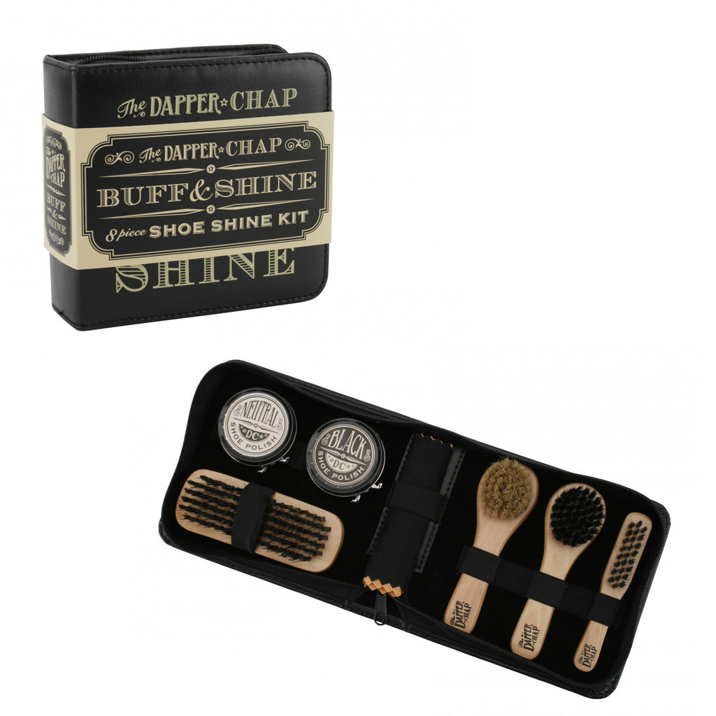The Dapper Chap Shoe Shine Kit