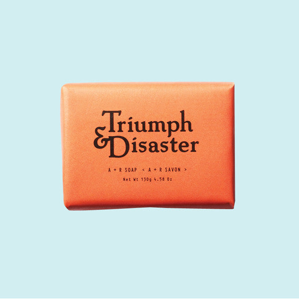 Triumph and Disaster A+R Soap
